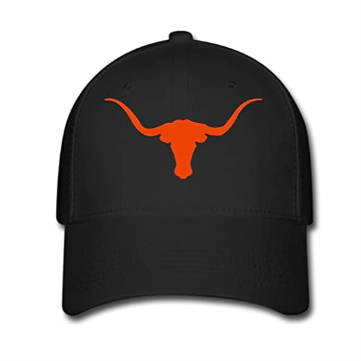 new product ef5ae 4d37b Image Unavailable. Image not available for. Color  Woman Men Cotton Texas  Longhorns Adjustable Hats ...