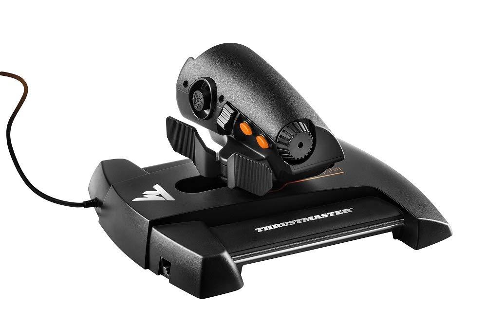 Thrustmaster - TWCS - Mando de Potencia - PC - Tecnología S.M.A.R.T.(Sliding Motion Advanced