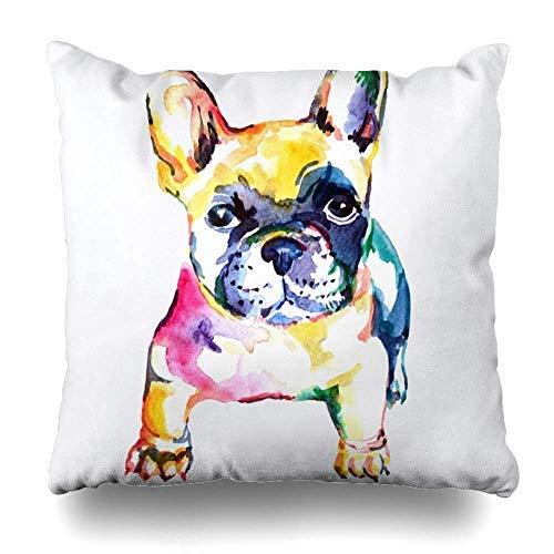 ImuSde - Funda de cojín con diseño de Perro Bulldog francés ...