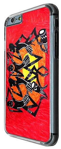 832 - African Art cool fun print Design iphone 6 PLUS / iphone 6 PLUS S 5.5'' Coque Fashion Trend Case Coque Protection Cover plastique et métal