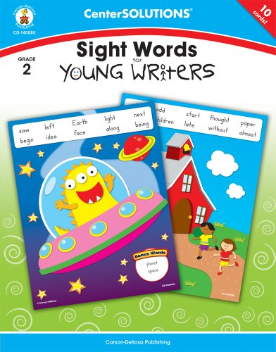 Sight Words for Young Writers, Grade 2 (Centersolutions Tear-Away (Centersolutions Language Arts)