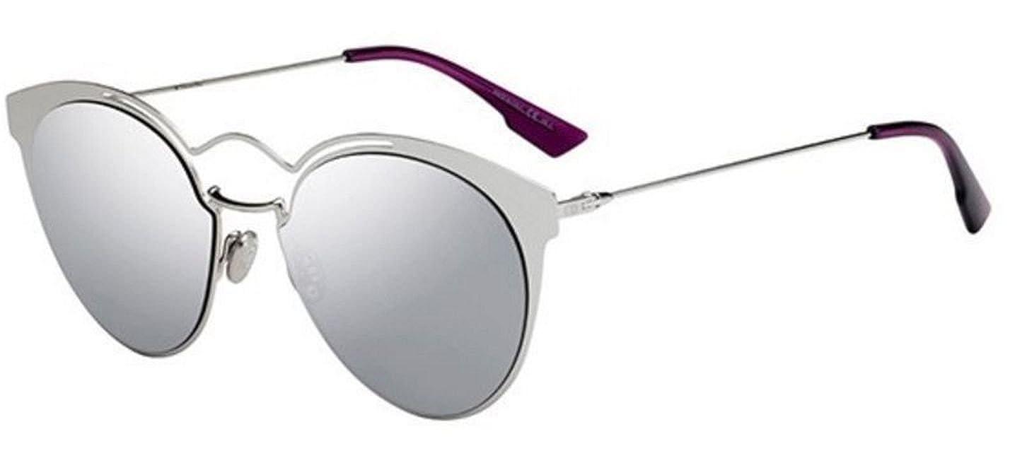 Amazon.com  New Christian Dior Nebula 010 OT Palladium Grey Silver  Sunglasses  Clothing 9059e73fb68c