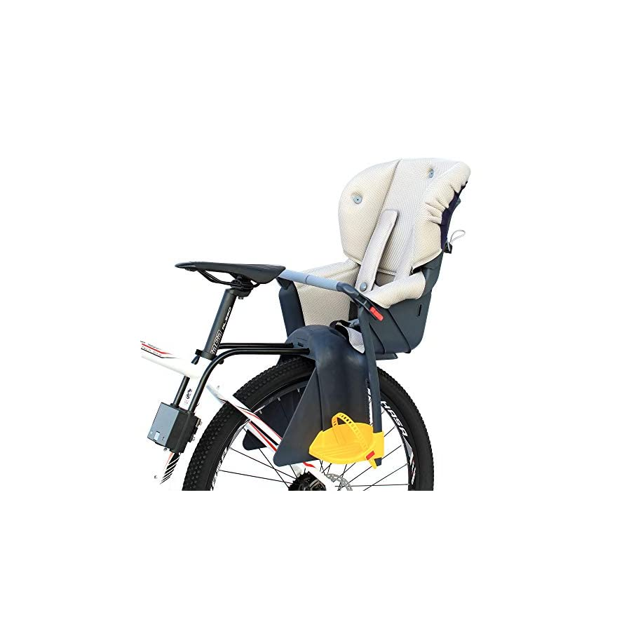 CyclingDeal Bicycle Kids Child Rear Baby Seat Bike Carrier USA Standard with Adjustable Seat Rest Height