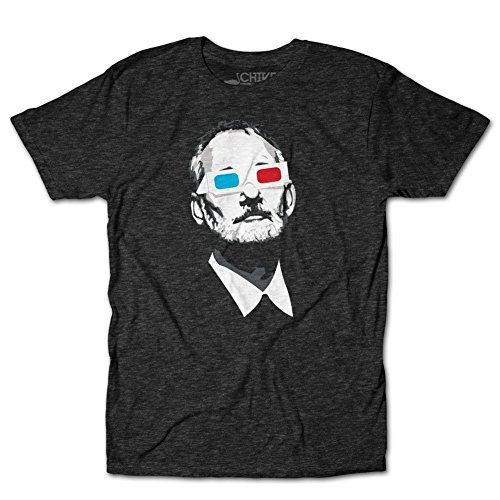 chive-tees-mens-official-bill-murray-3d-t-shirt-tri-charcoal-large
