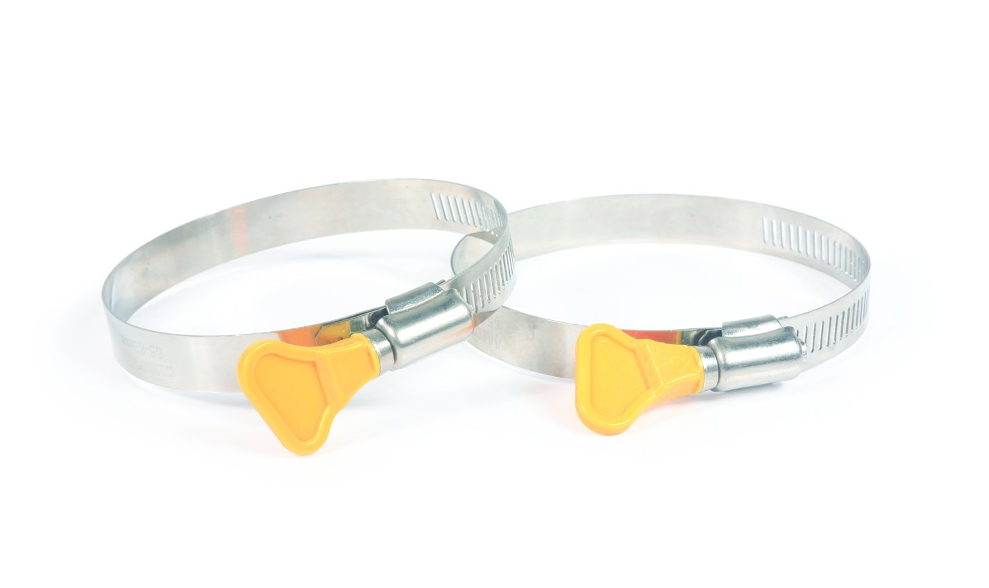 Camco 39553 RV Sewer Hose 3'' Twist-It Clamps - Pack of 2