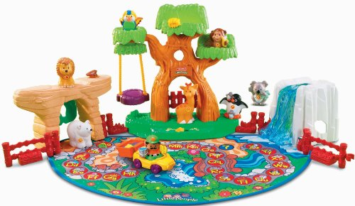 Zoo Learning (Little People A To Z Learning Zoo Playset)