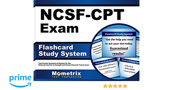 Flashcard Study System for the NCSF-CPT Exam: NCSF Test Practice ...