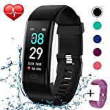KITPIPI Fitness Tracker Activity Tracker Watch with Heart Rate...