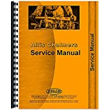 New Service Manual Made for Allis Chalmers AC Industrial Model 615