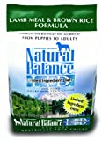 Natural Balance Limited Ingredient Diets Dry Dog Food - Lamb Meal and Brown Rice Formula - 4.5-Pound