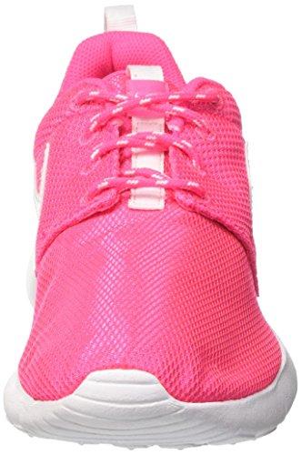 Gs Scarpe Roshe Unisex da Hyper Pink White Bambino Ginnastica Nike One Rosa EtwxdpwqZ