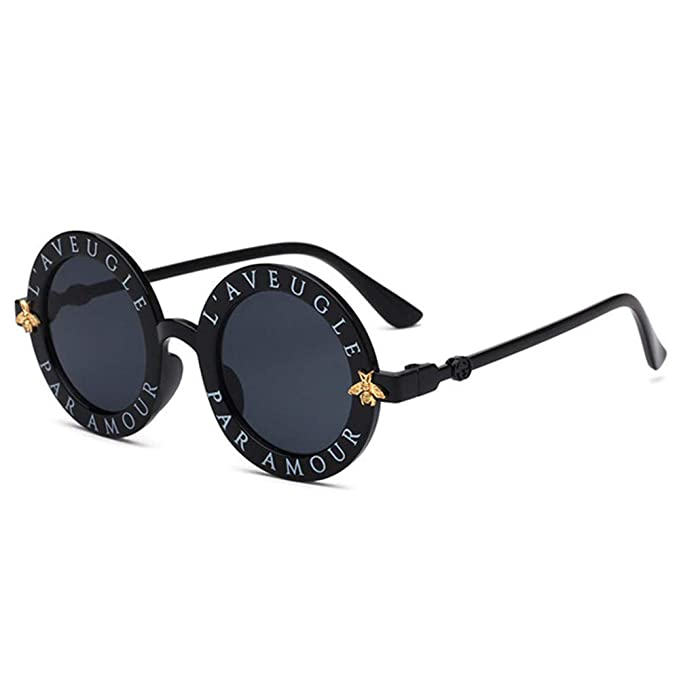 Wang-RX Steampunk Bee Kids Sunglasses Boys Girls Luxury ...