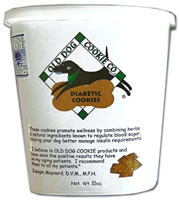 All Natural Diabetic Dog Treats, 10 oz- Vet Approved