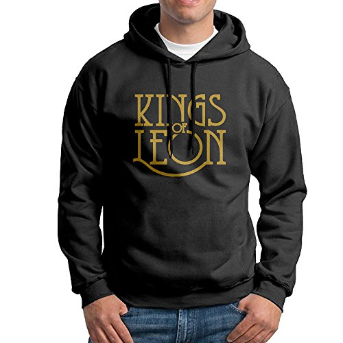 Kings Of Leon Black Hooded Sweatshirts