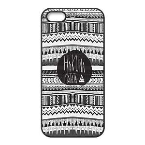 AinsleyRomo Phone Case Hakuna Matata Lions story pattern case For Apple Iphone 5 5S Cases HKNAT52019