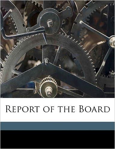 Book Report of the Board
