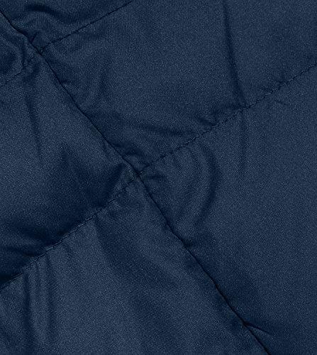 Navy Rembourrage Chaleur Marine Chaud Manteau Femme Blouson LAPASA Doudoune L18 Bleu Longue Dure Naturel et Duvet Courte Lger w8PTq0pP