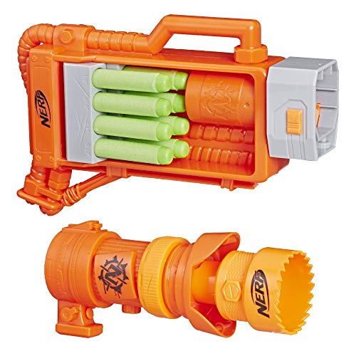 NERF Ner Zombie Zoom & Doom (Alien Attachments)