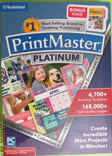 PrintMaster Platinum (1 User) Windows|Mac 8129196