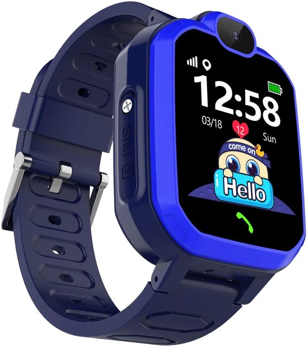 Laxcido Kids Smartwatch Phone with Calls Games Music Player Camera SOS Clock Calculator Touch Screen Waterproof WAS £35.99 NOW £17.99 w/code PJ9D34LX @ Amazon