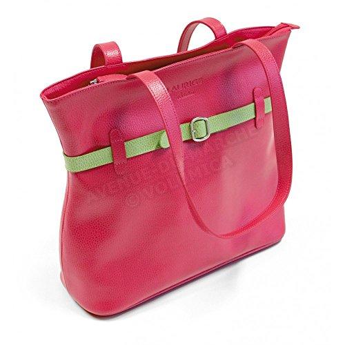 Tasche Schulter Amelie Leder Herstellung Luxe Französische Rot - Rot D9f0n