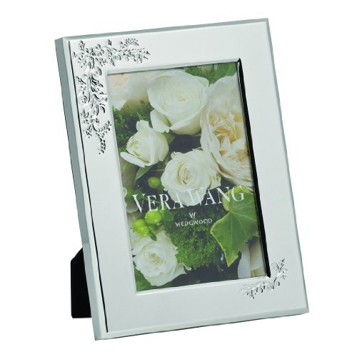 - Vera Wang by Wedgwood Lace Bouquet 4-Inch by 6-Inch Frame