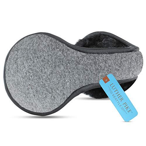 Ear Warmers For Men & Women: Adjustable Headband Warm Ear Muffs: Super Soft Winter Earmuffs In 5 Colors - Grey