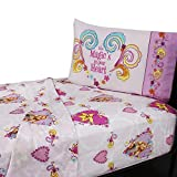 Disney Tangled Rapunzel Twin Size 3 Piece Sheet Set Cotton Rich