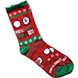 A Christmas Story You'll Shoot Your Eye Out Ugly Sweater Adult Crew Socks