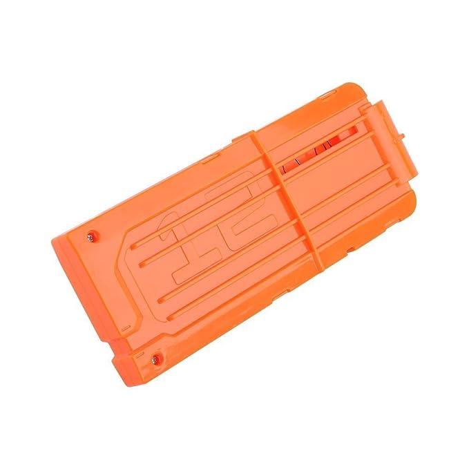 Yosoo® 2pz Riserva Capacidad de 12 dardos quick-reload Clip Cargador para Nerf N-Strike Serie Elite