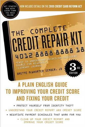 Download Complete Credit Repair Kit 3rd Ed A Plain English