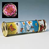 Bits and Pieces - Colorful Butterfly Kaleidoscope Gift - Dazzling Toy Creates Ever Changing Scene