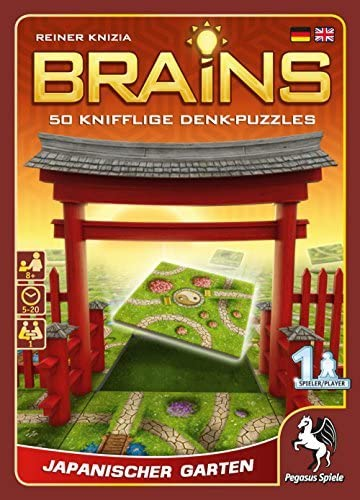 Pegasus Spiele 18130G Brains Japanese Garden Board Game by Pegasus Spiele: Amazon.es: Juguetes y juegos