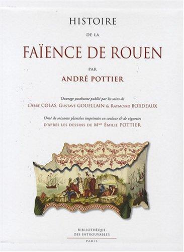histoire de la faïence de Rouen ebook