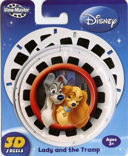 ViewMaster Lady & The Tramp 3 Reel Set by View Master