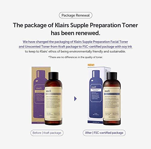[KLAIRS] Supple Preparation Facial Toner, toner, moisturizer, without paraben and alcohol, 180ml, 6.08oz