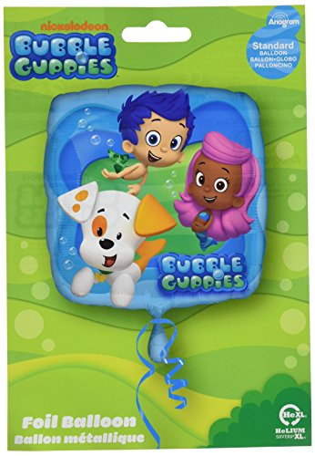 Anagram International HX Bubble Guppies Party Balloons, Multicolor -