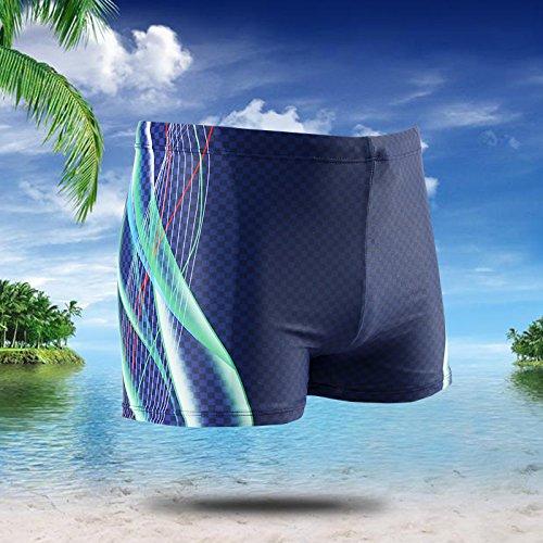 ZQ@QXL'Europe et les États-Unis men's fashion boxer XL maillot de bain,bleu,xxxl