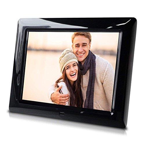 8 inch Slim Digital Photo Frame - Auto Slideshow, Photo Rotation, Plug and Play. ()