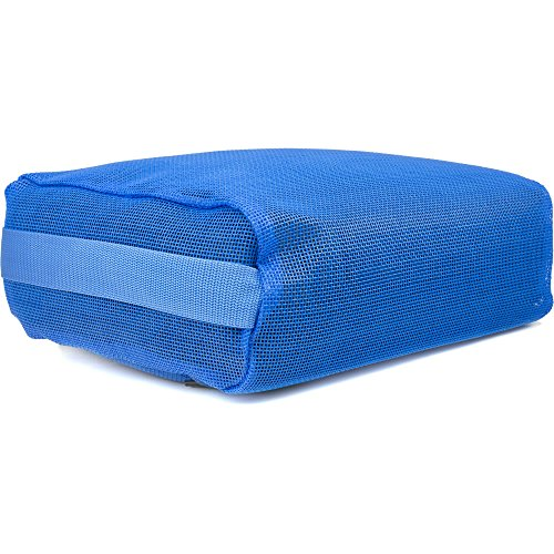 Hot Tub Booster Cushion Submersible Spa Water Seat - Blue by Belize