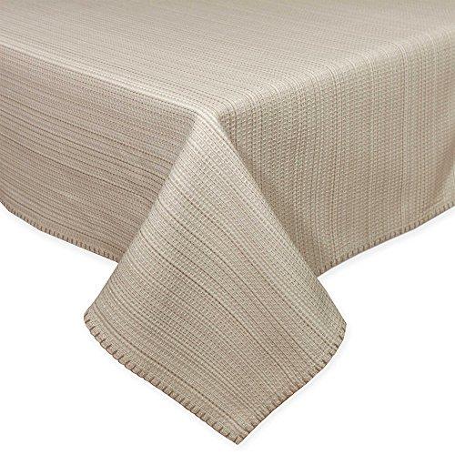 HomeCrate Elegant Lyon Collection Woven Tablecloth, 60