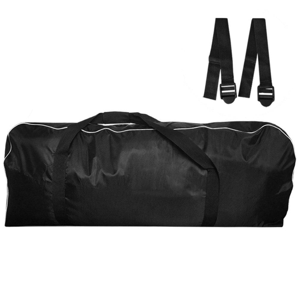 RUNACC Bolsa de transporte para patinete eléctrico Oxford con correas de liberación rápida, color negro