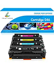 $56 Get True Image Compatible Toner Cartridge Replacement for Canon 046 MF733Cdw Toner Cartridge 046 CRG-046 Canon ImageCLASS MF733Cdw MF731Cdw MF735Cdw LBP654Cdw Toner (Black Cyan Yellow Magenta, 4-Pack)