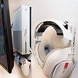 HIDEit Uni-H Mount - Universal Headset Wall Mount - VR, Headphones