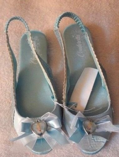 Disney Princess Cinderella Costume Shoes/Slippers (sling backs)