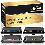 Arcon 508A 508X 4PK Comaptible Toner Cartridge Replacement for HP 508A CF360A 508X CF360X M553n M553dn HP Color LaserJet Enterprise M553n M553dn MFP M577 M553x M552dn M553 CF361A CF362A CF363A Printer