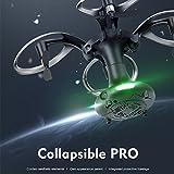 Jiayuane Mini Foldable Drone With Camera Live Video,Headless Mode/ Gravity Sense Control,Ball Shaped RC Quadcopter for Kids