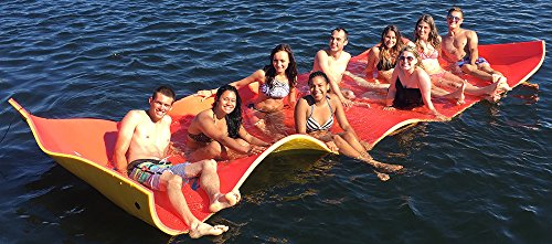 Price comparison product image Northstar Floating Foam Party Pad - Red/Yellow