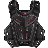 EVS Youth Revolution 4 Roost Guards - One size fits most/Grey/Red