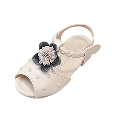 Nibito® Baby Fashion Sneaker Pearl Toddler children Floral Pricness Casual Sandals Shoes